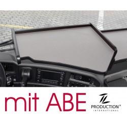 Scania G Mittelablagetisch Kante schwarz Anirutschmatte grau mit ABE