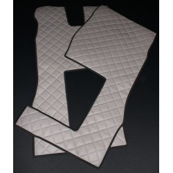 VOLVO FH 4 Fußmatten-Set Kunstleder-Farbe grau