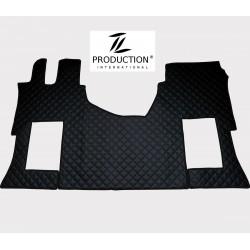 Tunnelmatte für luftgefederten Beifahrersitz schwarz
