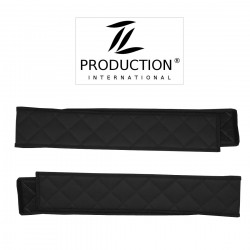Sitzsockelverkleidung für luftgefederten Beifahrersitz schwarz
