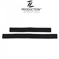 Sitzsockelverkleidung für klappbaren Beifahrersitz schwarz