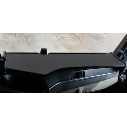 MAN TGX  ab 2020 durchgehender LKW-Tisch Kante schwarz Antirutschmatte schwarz